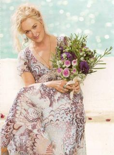 Meryl Streep as Donna in Mamma Mia.