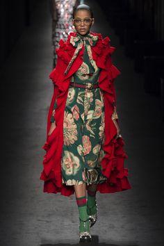 "rrrusskaya: ""Gucci Fall - Winter 2016/2017. Model: Aya Jones. "" haute couture blog"