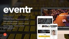 Eventr - One Page Event Template