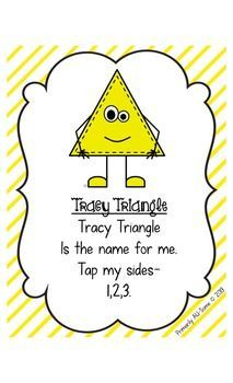 shape poem posters triangle