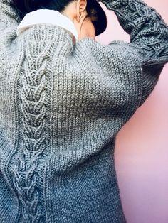 Un hermoso suéter, tutorial gratis. – TEJIDOS KIRIKIRI Fingerless Gloves, Arm Warmers, Pullover, Knitting, Sweaters, Clothes, Fashion, Crochet Stitches, Knitting Designs