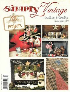 Simply Vintage Quilts & Crafts - Winter 2013 #9