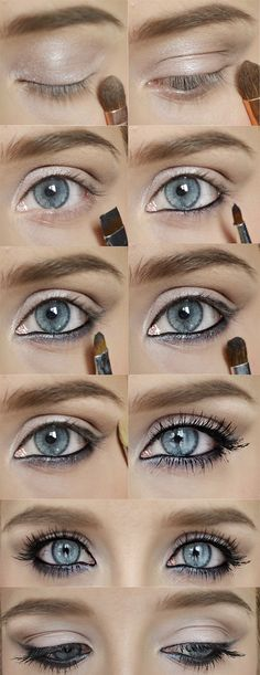 Rihanna inspired: REVLON gel liner Urban Decay Naked Maybelline the Colossal