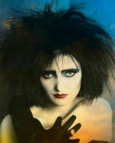 Siouxsie Sioux of Siouxsie and The Banshees