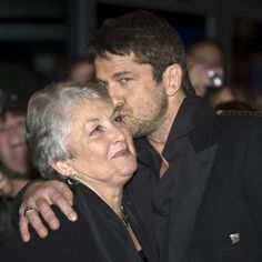 "Gerard Butler❤︎ ""Happy Birthday dear Margaret...! Thanks for the beautiful person you brought to this world...! ❤…"""