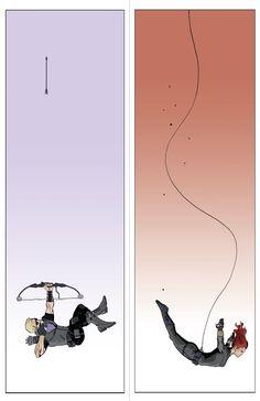 Hawkeye and Black Widow - Brilliant art by Ibrahim Moustafa. http://theartofibrahimmoustafa.blogspot.com