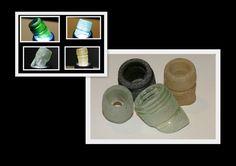Genuine Scottish Sea Glass  Bottleneck Rims , Collectors, Windchimes, Crafts (Code 3BTR) by ScottishSeaTreasure on Etsy
