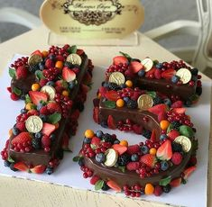 Most up-to-date Photographs fruit cake number Thoughts - yummy cake recipes Cake Recipes, Dessert Recipes, Juice Recipes, Cupcake Cakes, Cupcakes, Number Cakes, Number Birthday Cakes, Fruit Birthday Cake, Simple Birthday Cakes