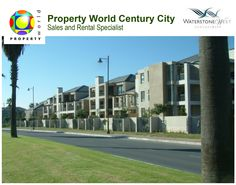 From Century Boulevard and right off Waterstone Square is Waterstone West Property, a low-rise development of 70 sectional title apartments set in beautifully landscaped gardens at Century City!