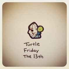 Turtle Friday The 13th #turtleadayjuly - @turtlewayne- #webstagram
