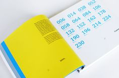Look-book style portfolio layout. Eye-catching color choices.    {DA / self promo by David Arias, via Behance}