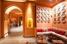 Nargile: Middle-Eastern and Lebanese influences blend with subtle aromas #Greece #CostaNavarino #Resort #Restaurant
