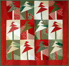Free Quilt Patterns to Print | Christmas Patterns Quilting