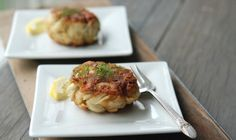 #Crabcakes!  Easy #recipe with convenient serving options #baltimore #maryland