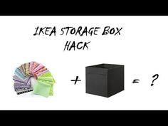 Ikea Hack Drona Boxes - YouTube