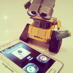 Poor Wall E has been cheated on... :(