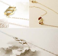 Albeit jewelry: simple and airy necklace. Choose from alphabets, numbers, and symbols :)