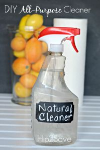 Do you like the idea of making your own simple homemade cleanerswith natural ingredients? Then try this easy vinegar spray!Grab an empty spray bottle (you can also buy empty bottles on Amazon.com) and pourequal parts distilled white vinegar and water.It's perfect for the kitchen counters and everyday cleaning. Essential oils are a great way to […]