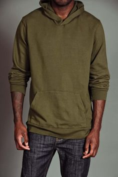 Organic Hooded Pullover