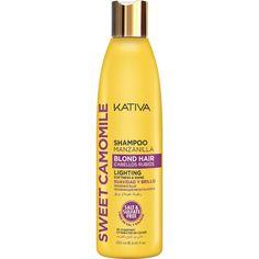 Kativa Sweet Camomile Blond Hair Shampoo Salt & Sulfate Free 250 ml