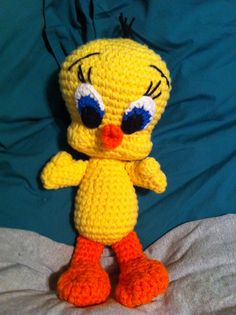 Amigurumi Tweety Bird : 1000+ images about Crochet Amigurumi on Pinterest ...