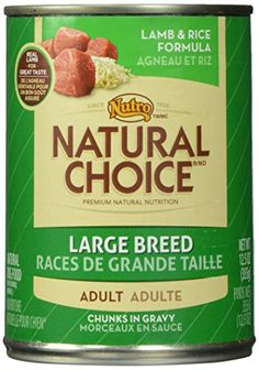 NUTRO 791436 12Pack Natural Choice Large Breed LambRice Canned Food for Dogs 125Ounce -- Details can be found by clicking on the image.