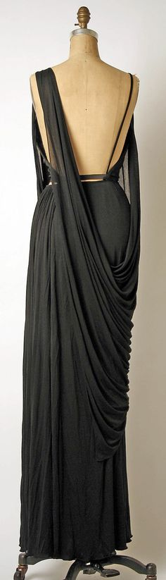 Evening ensemble Madame Grès (Alix Barton)  (French, Paris 1903–1993 Var region)