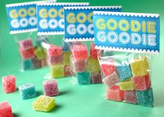 Make your own gumdrops! Custom flavors, custom colors!