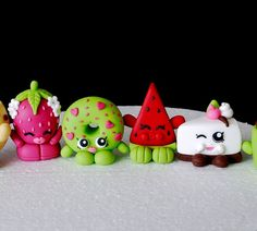 Fondant Shopkins Cake Topper Shopkins by SugarDecorByLetty