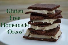"Gluten Free Homemade ""Oreos"" (egg free, dairy free, nut free, corn free) | Homemade Dutch Apple Pie"