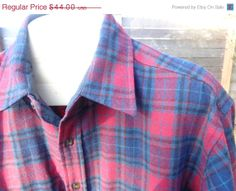 On Sale Vintage Pendleton Shadow Plaid outdoorsman by Simplemiles, $37.40