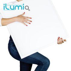ILUMIA flat led bulbs lamp 220 v office lighting ceiling ac220v false ceiling led panel 595*595*15 analogue 4*18W  2600 lumens