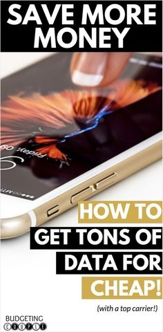 Find out how we found a cheap cell phone plan where we get 7 times the data we would have received with a typical phone plan! Best Money Saving Tips, Ways To Save Money, Saving Money, Money Tips, Cell Phone Contract, Cell Phone Plans, Best Cell Phone Deals, Cheap Cell Phones, Budgeting Money