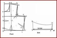 Vani's blog 1 : Method of stitching sari blouse