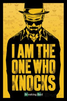 Breaking Bad - I am the one who knocks Poster - bei AllPosters.ch