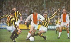 Ajax Johann Cruyff in action circa 1970.