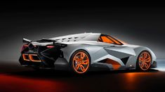 The celebration gala of Lamborghini´s anniversary ended in the best way with the presentation of a radical prototype created by the Director of Volkswagen Group Design, Walter de Silva. The single-seater Lamborghini Egoista has extreme and uniqu Lamborghini Aventador, Ferrari, Lamborghini Models, Lamborghini Concept, Lamborghini Interior, Lamborghini Pictures, Lamborghini Diablo, Lamborghini Quotes, Sexy Cars