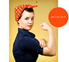 rosie the riveter costume - Google Search