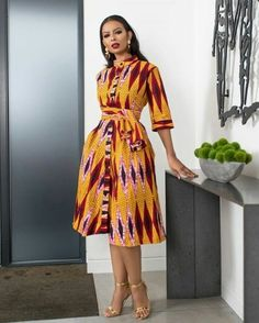 """The best ankara dress styles are absolutely top notch.African fashion with its ankara styles and lace styles popularly known as as """"asoebi"""" are here to stay. Latest African Fashion Dresses, African Print Dresses, African Dresses For Women, African Print Fashion, Africa Fashion, African Attire, African Wear, Women's Fashion Dresses, African Prints"""