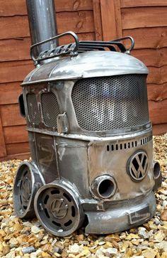 Top Vintage Volkswagen Vehicle and Accessories Collections Items No 38 Metal Projects, Welding Projects, Welding Ideas, Diy Projects, Vw Vintage, Vintage Sport, Car Volkswagen, Vw Camper, Campers