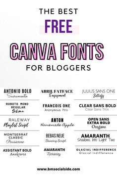 Aesthetic Fonts, Font Combinations, Pitch Deck, Social Media Marketing Business, Life Hacks For School, Graphic Design Tips, Instagram Blog, Flyer, Blog Tips