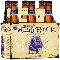 Shadow's Wild Black Blackberry Lager ... I LOVE Wild Blue, but this is even better!