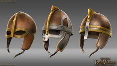 Rohan helmets by RobbieMcSweeney on DeviantArt