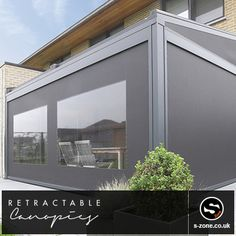 The Lagune  This terrace covering is a patented aluminium construction with integrated Fixscreen® technology. The sun-protection screen is fully built into the structure to create an aesthetically pleasing unit.  To view more information on Lagune:  http://www.retractablecanopies.co.uk/products/lagune/  The S-Zone Group in East Yorkshire, Hull Contact our Sales team on: 01482 481050 Or visit our website on www.s-zone.co.uk