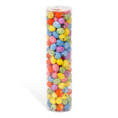 Darice-Easter-Decor-Bright-Speckle-Mini-Foam-Spring-Eggs-Bowl-Fillers