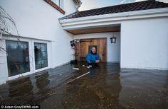 Flooding in Somerset UK