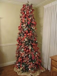 Slim Trees On Pinterest Slim Christmas Tree Potted