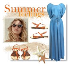 """summer feelings"" by tuaptstore on Polyvore featuring Luis Onofre, Summer, feelings, women and fashionset"