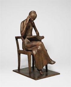 Sitzende Leserin par Gerhard Marcks