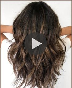 Highlights For Dark Brown Hair, Bronze Highlights, Brown Hair Balayage, Violet Black Hair Color, Hair Color For Black Hair, Silver Ombre Hair, New Hair Look, Easy Hairstyles For Long Hair, Layered Haircuts